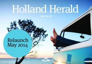 Holland HeraldMAY 2014