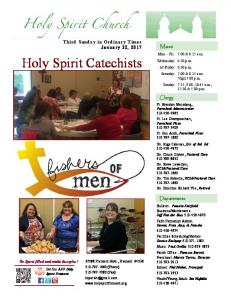 Holy Spirit Catechists