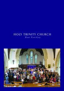 HOLY TRINITY CHURCH. East Finchley