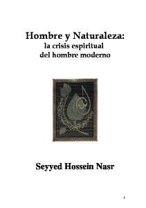 Hombre y Naturaleza: la crisis espiritual del hombre moderno