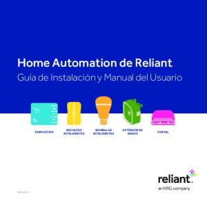 Home Automation de Reliant