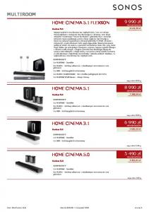 HOME CINEMA 5.1 FLEXSON