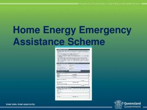Home Energy Emergency Assistance Scheme