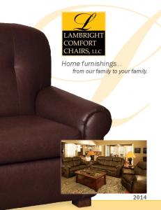 Home furnishings... from our family to your family