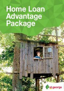 Home Loan Advantage Package