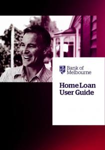 Home Loan User Guide