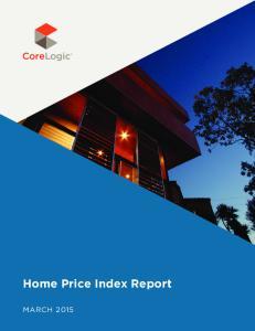 Home Price Index Report