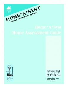 HOME*A*SYST. Home Assessment System. Home*A*Syst Home Assessment Guide