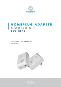 HOMEPLUG ADAPTER STARTER KIT
