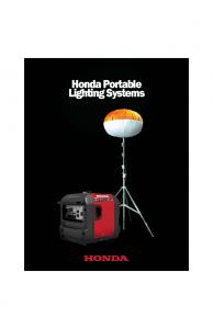 Honda Portable Lighting Systems