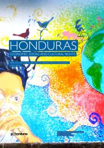 HONDURAS ECONOMIC, SOCIAL AND CULTURAL RIGHTS