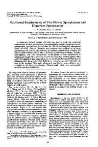 Honeybee Spiroplasmat