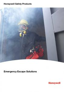 Honeywell Safety Products. Emergency Escape Solutions