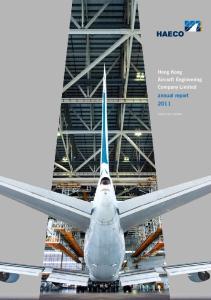 Hong Kong Aircraft Engineering Company Limited annual report 2011