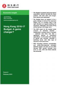 Hong Kong Budget: A game changer?
