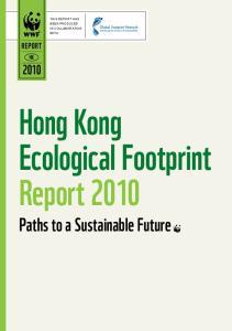 Hong Kong Ecological Footprint Report 2010