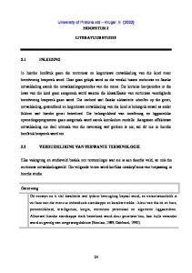 HOOFSTUK 2 LITERATUURSTUDIE