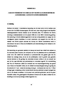 HOOFSTUK 3. AARD EN VOORKOMS VAN MISDAAD OP TRANSVAAL SUIKER BEPERK SE LANDGOEDERE: `n KWANTITATIEWE BESPREKING