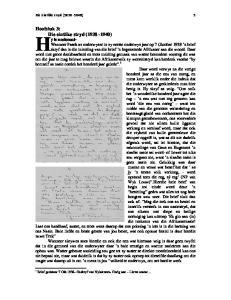 Hoofstuk 3: Die eintlike stryd ( )