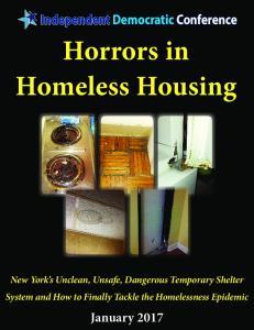 Horrors in Homeless Housing