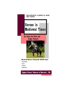 Horses in Medieval Times