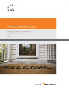 Hospital Diversion Services