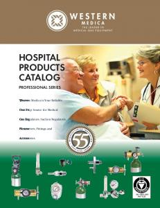 HOSPITAL PRODUCTS CATALOG