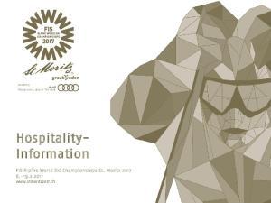 Hospitality- Information