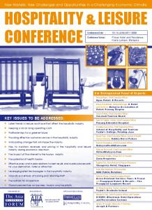 HOSPITALITY & LEISURE CONFERENCE