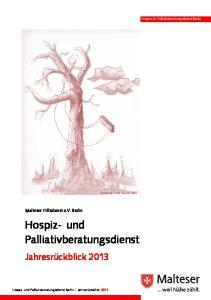 Hospiz- und Palliativberatungsdienst