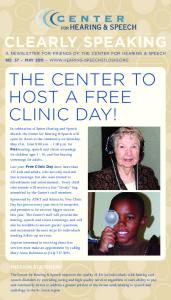 host a Free Clinic Day!