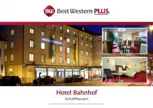Hotel Bahnhof Schaffhausen. Each Best Western branded hotel is independently owned and operated