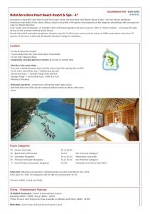Hotel Bora Bora Pearl Beach Resort & Spa - 4*