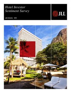 Hotel Investor Sentiment Survey. Latin America 2014