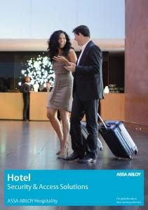 Hotel. Security & Access Solutions. ASSA ABLOY Hospitality