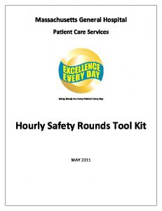 Hourly Safety Rounds Tool Kit