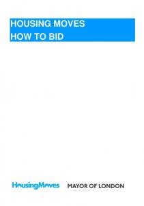 HOUSING MOVES HOW TO BID