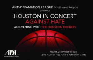 HOUSTON IN CONCERT AGAINST HATE