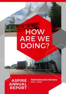 HOW ARE WE DOING? ASPIRE ANNUAL REPORT