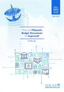 How can Malaysia s Budget Documents be Improved?