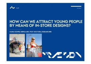HOW CAN WE ATTRACT YOUNG PEOPLE
