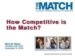How Competitive is the Match?