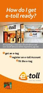 How do I get e-toll ready?