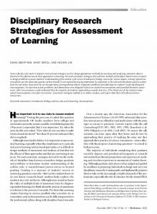How important is it to use data to assess student