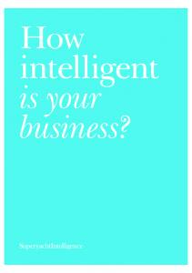 How intelligent is your business?