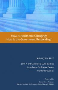 How Is Healthcare Changing? How Is the Government Responding?