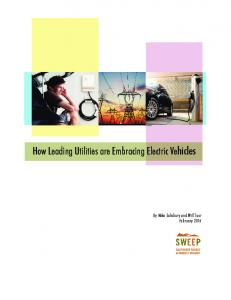 How Leading Utilities are Embracing Electric Vehicles