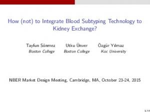 How (not) to Integrate Blood Subtyping Technology to Kidney Exchange?