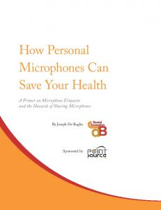How Personal Microphones Can Save Your Health