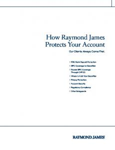 How Raymond James Protects Your Account